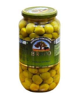 Оливки с косточкой Bravo, 835 г