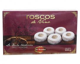 Набор печенья с вином EL Santo Roscos de Vino, 600 г