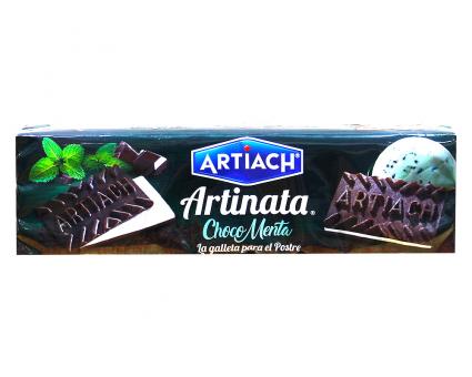 Вафли шоколадные с мятной начинкой ARTIACH Artinata Choco Menta