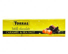 Шоколад молочный с соленой карамелью без глютена TORRAS, 300 г