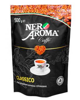 Кофе растворимый Nero Aroma Classico, 500 г (30/70)