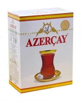 Чай черный с ароматом бергамота Azercay, 100 г (ароматизированный чай)