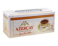 Чай черный с ароматом бергамота Azercay, 2г*25 шт (ароматизированный чай в пакетиках)
