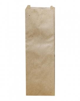 Крафт пакет бумажный 80х210х40 мм, 100 шт