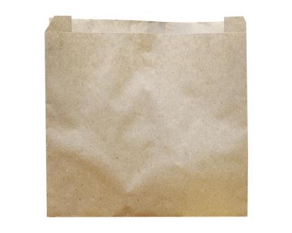 Крафт пакет бумажный 100х100х40 мм, 100 шт