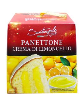 Паска с лимонным кремом Santagelo PANETONE alla crema di Limone, 908 г