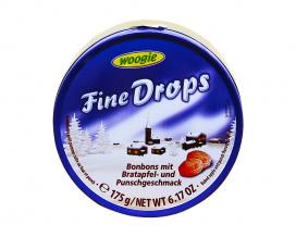 Леденцы со вкусом печёного яблока и пунша Woogie Fine Drops Bonbons mit Bratapfel und Punschgeschmac, 175 г