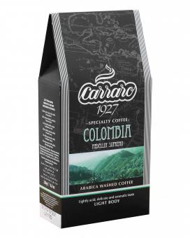 Кофе молотый Carraro Colombia, 250 г (моносорт арабики)