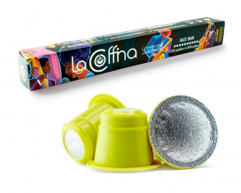 Кофе в капсулах La Cоffina JAZZ BAR Nespresso, 10 шт (50/50)