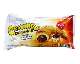 Круассан шоколадно-ореховый YOUY & CO Cravings Croissants, 45 г