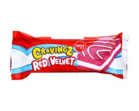 Пирожное бисквитное Красный бархат YOUY & CO Cravings Red Velvet, 50 г