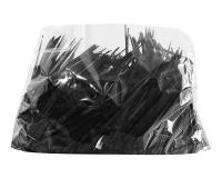 Шпажка Призма черная, 9,5 см, 1000 шт