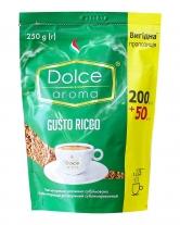 Кофе растворимый Dolce Aroma Gusto Ricco, 200 + 50 грамм в подарок