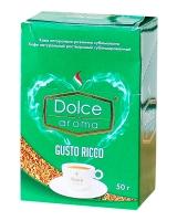 Кофе растворимый в стиках Dolce Aroma Gusto Ricco (2 г*25 шт/уп), 50 г