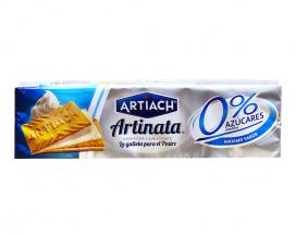Вафли без сахара сливочные ARTIACH Artinata 0% Azucares, 175 г