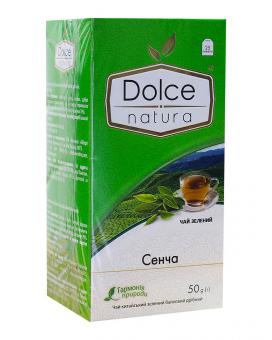 """Чай зелёный """"Dolce Natura"""" Сенча/ Сентя, 2г*25 шт (чай в пакетиках)"""