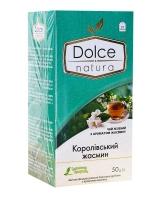"""Чай """"Dolce Natura"""" Королевский жасмин, 2г*25 шт (зелёный ароматизированный чай в пакетиках)"""