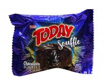 Кекс шоколадный с шоколадным кремом Elvan TODAY SUFLE CHOCOLATE, 50 г