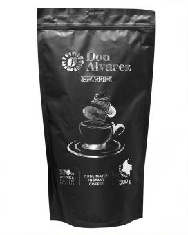 Кофе растворимый Don Alvarez Classic, 500 г (100% арабика)