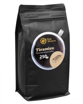 Кофе растворимый Don Alvarez Тирамису, 500 г (100% арабика)