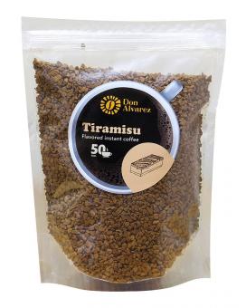 Кофе растворимый Don Alvarez Тирамису, 100 г (100% арабика)