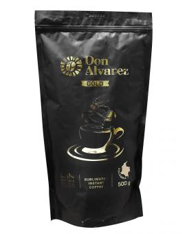 Кофе растворимый Don Alvarez Gold, 500 г (100% арабика)