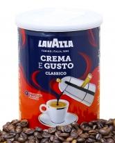 Кофе молотый Lavazza Crema e GustoClassico, 250 г (30/70) (ж/б)