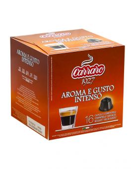 Кофе в капсулах Carraro Aroma e Gusto Intenso DOLCE GUSTO, 16 шт