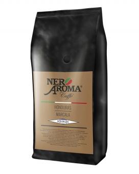 Кофе в зернах Nero Aroma Honduras Marcala, 1 кг (моносорт арабики)