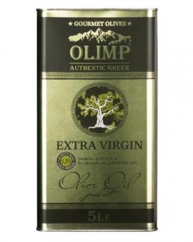 Масло оливковое первого отжима Extra Virgin Olive Oil OLIMP GOLD LABEL, 5 л