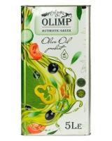 Масло оливковое первого отжима Extra Virgin Olive Oil OLIMP GREEN LABEL, 5 л