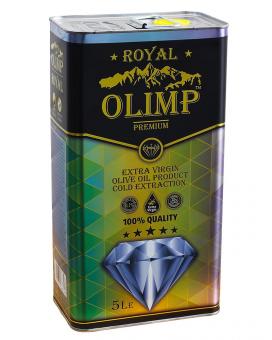 Масло оливковое первого отжима Extra Virgin Olive Oil OLIMP ROYAL Blue, 5 л