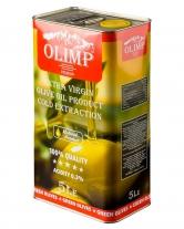 Масло оливковое первого отжима Extra Virgin Olive Oil Gold Extraction OLIMP RED LABEL, 5 л
