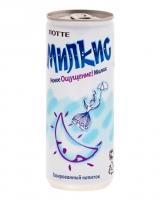 Напиток молочный безалкогольный газированный Милкис Оригинальный ЛОТТЕ, 250 мл (Milkis Original LOTTE)