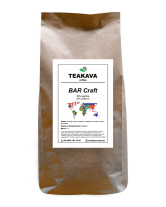 Кофе в зернах Teakava BAR Craft, 1 кг (50/50)