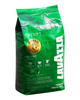 Кофе в зернах Lavazza Tierra Bio-organic Intenso Expert, 1 кг (80/20)