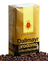 Кофе молотый Dallmayr Prodomo Entcoffeiniert (без кофеина), 500 г (100% арабика)