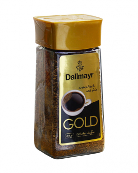 Кофе растворимый Dallmayr GOLD, 100 г