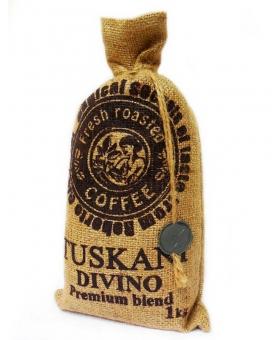 Кофе в зернах Tuskani Divino, 1 кг (60/40)