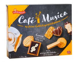 Набор печенья Griesson Cafe Musica Box, 500 г (2*250 г)