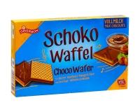 Вафли с фундуком и молочным шоколадом Griesson Schoco Waffel Milk Chocolate, 125 г