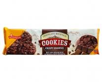 Печенье шоколадное с шоколадной крошкой Griesson Chocolate Mountain Cookies Crispy Brownie, 150 г