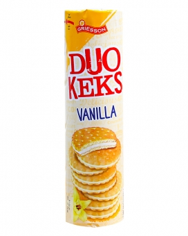 Печенье с ванильной прослойкой Griesson Duo Keks Vanilla, 500 г