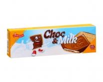 Печенье с шоколадом и сливками Griesson Choc & Milk, 150 г