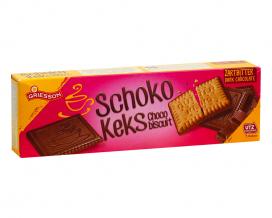 Печенье в черном шоколаде Griesson Schoko Keks Choco Biscuit Dark Chocolate, 125 г