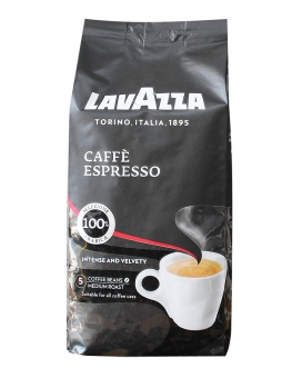 Кофе в зернах Lavazza Caffe Espresso, 500 г (100% арабика)
