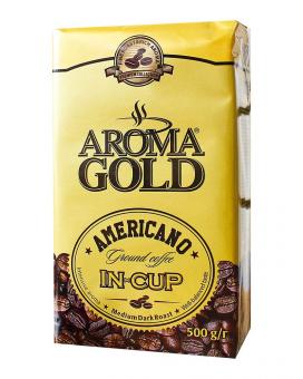 Кофе молотый Aroma Gold Americano In Cup, 500 г (40/60)