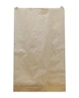 Крафт пакет бумажный 140х350х40 мм, 100 шт