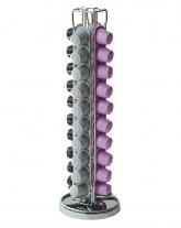 Подставка для капсул Nespresso на 40 шт (110 х 370 мм), хромированная сталь