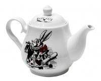 Чайник заварочный  Wilmax 550мл Белый кролик